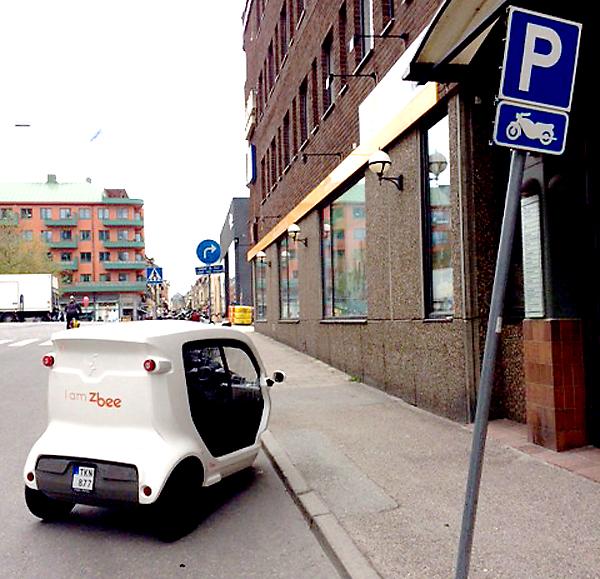 Zbee parkering